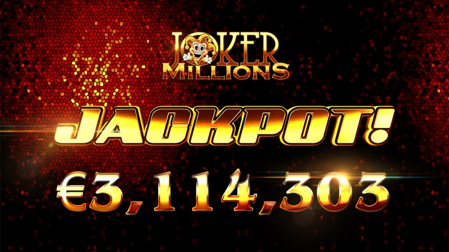 Joker Millions Slot With a Progressive Jackpot