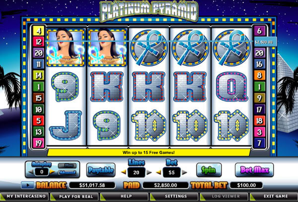 Old Egypt Fun In Platinum Pyramid Slot Games