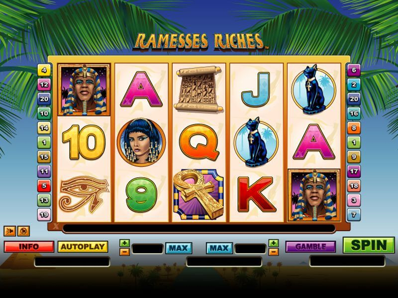Ramesses Riches Online Slots Overview