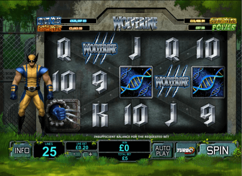 How To Play Wolverine Online Slots from Cryptologic