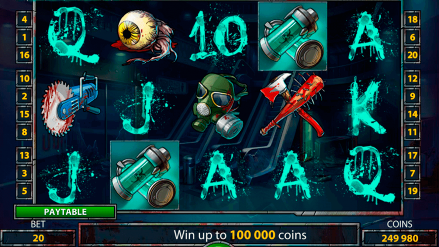 The Zombies Slot Online Game From Cryptologic
