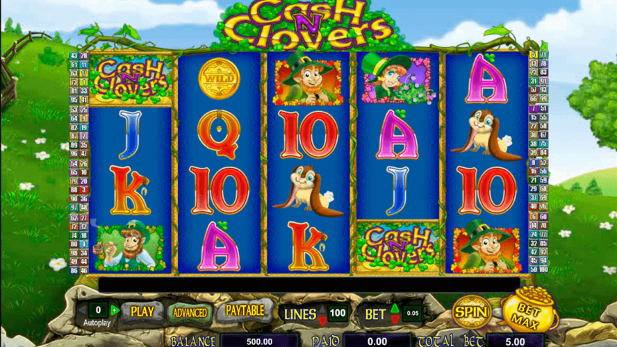Overview Of Cash N Clovers Slot Game For Players