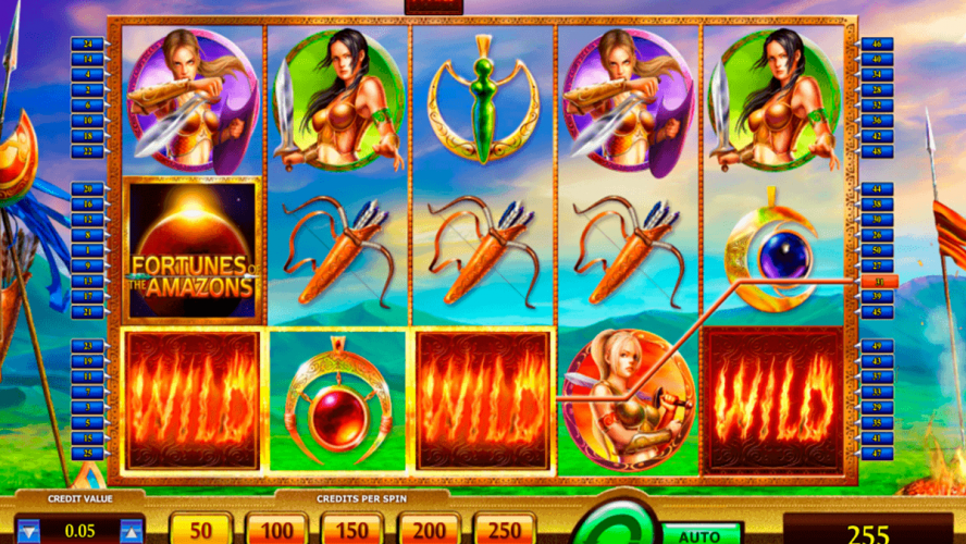 The Road To Fortunes Of The Amazons Online Slots Game