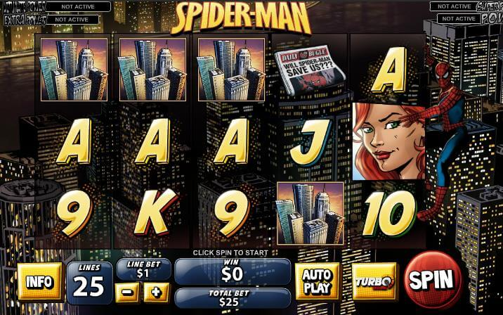 An In-Depth Look At Spiderman Slots Online Game