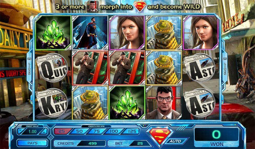 Superman Last Son Of Krypton Slot Online Game