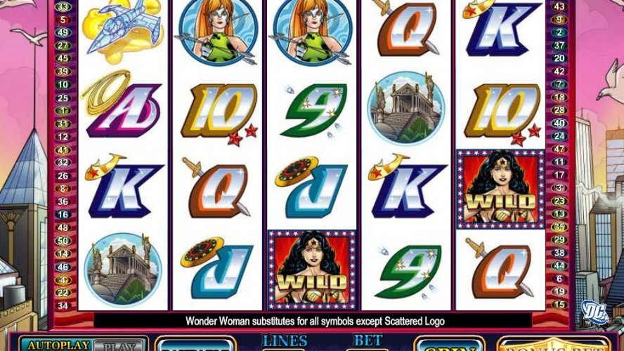 How Easy To Play Wonder Woman Slot from Cryptologic