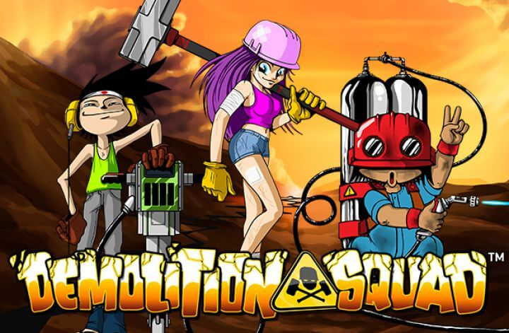 Demolition Squad Online Slot Review