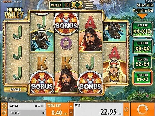 Quickspin Hidden Valley Slot Explain With Reviews