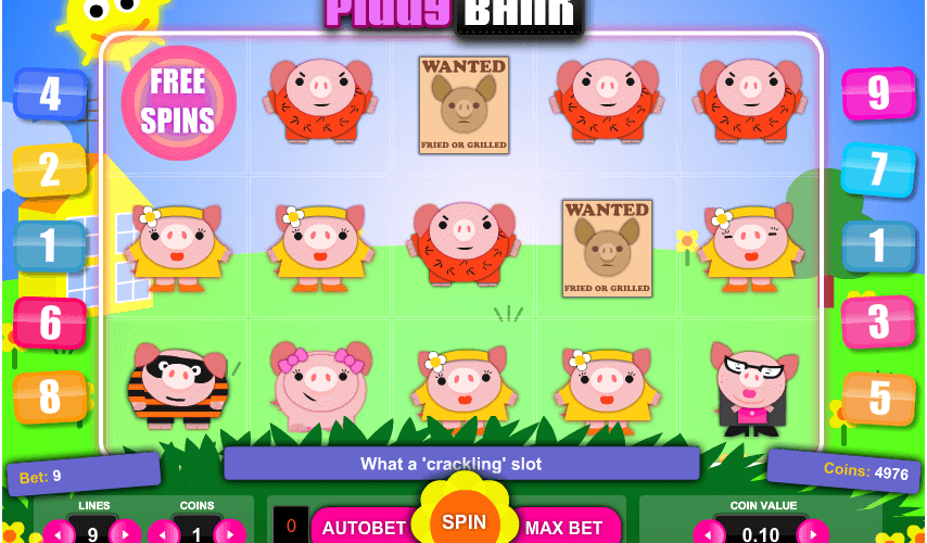 Reviewing Piggy Bank Online Slot Game by 1×2 Gaming
