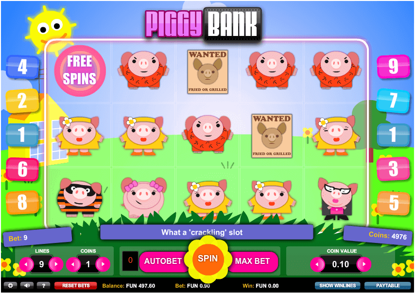 Best Ever Piggy Bank Slot Online Game By 1×2 Gaming
