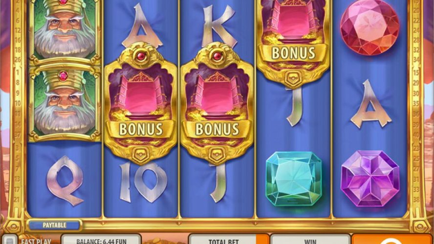 Overview of King Colossus Slot Game by Quickspin